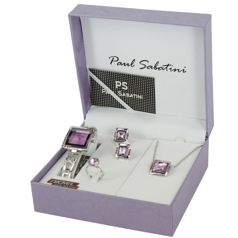 b75bf83c8253 Paul Sabatini Elegant Ladies Watch Gift Set BL7373